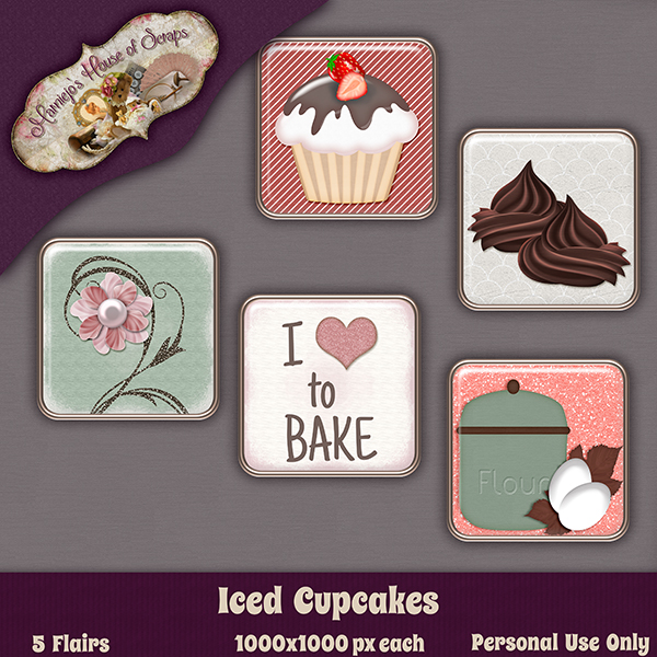 "Manic Monday - ""Iced Cupcakes"""