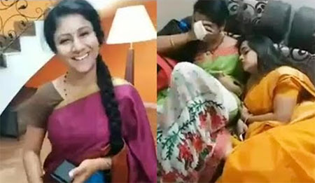 Vijay TV Serial Raja Rani Funny Shooting Location Video    FB LIVE    Karthi & Semba   
