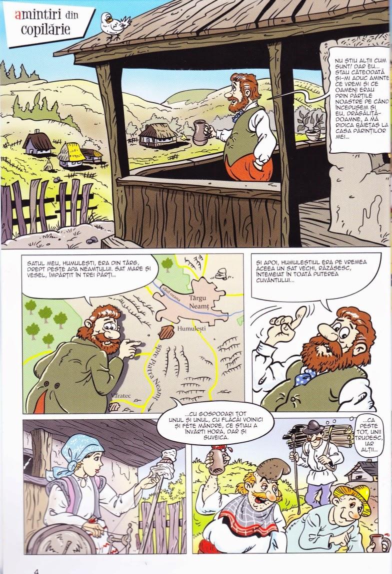 """Ion Creangă - Amintiri din Copilărie și alte Povestiri. (benzi desenate).  Tastează """"Vezi mai Departe"""" pentru a citi cartea"""