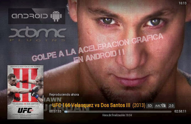 XBMC ANDROID con HW