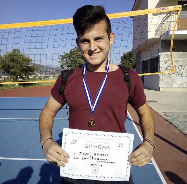 Χάλκινο μετάλλιο για αθλητή του νεοσύστατου τμήματος στίβου του ΑΡΓΟΛΙΚΟΥ Γ.Σ.