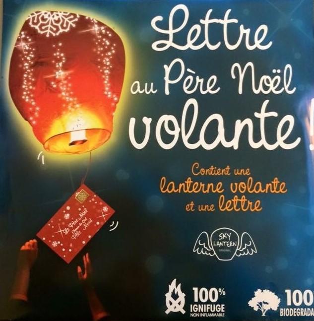 Lettre Au Pere Noel Volante.Nounou Elsa