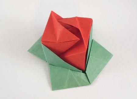 Origami rose cube maekawa genuine 3d make easy origami for origami rose cube maekawa genuine 3d mightylinksfo