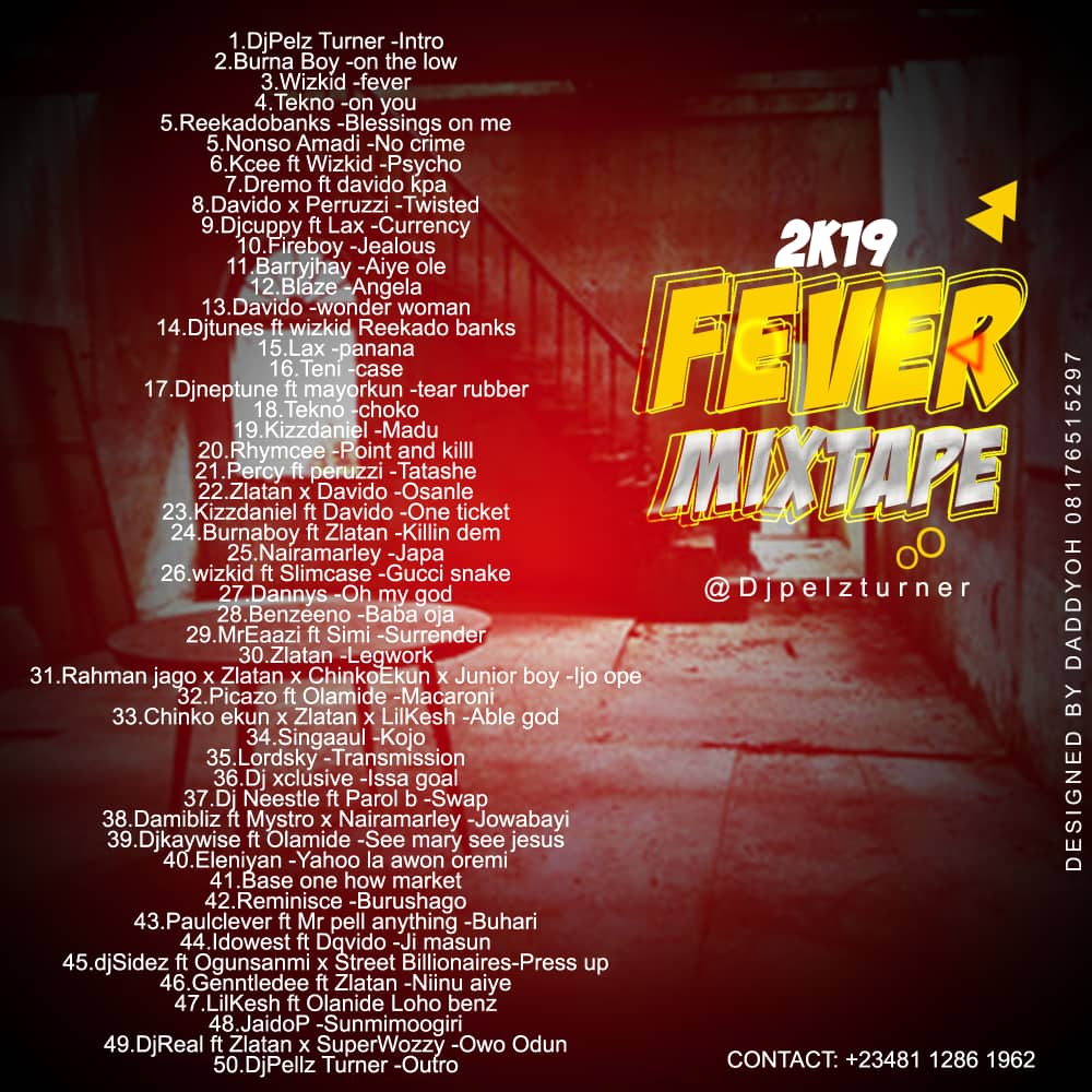 DOWNLOAD MIXTAPE: Dj Pelzturner - 2k19 Fever - Welcome to Exclusiveclue