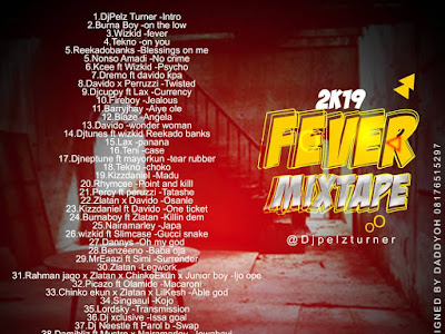 DOWNLOAD MIXTAPE: Dj Pelzturner - 2k19 Fever