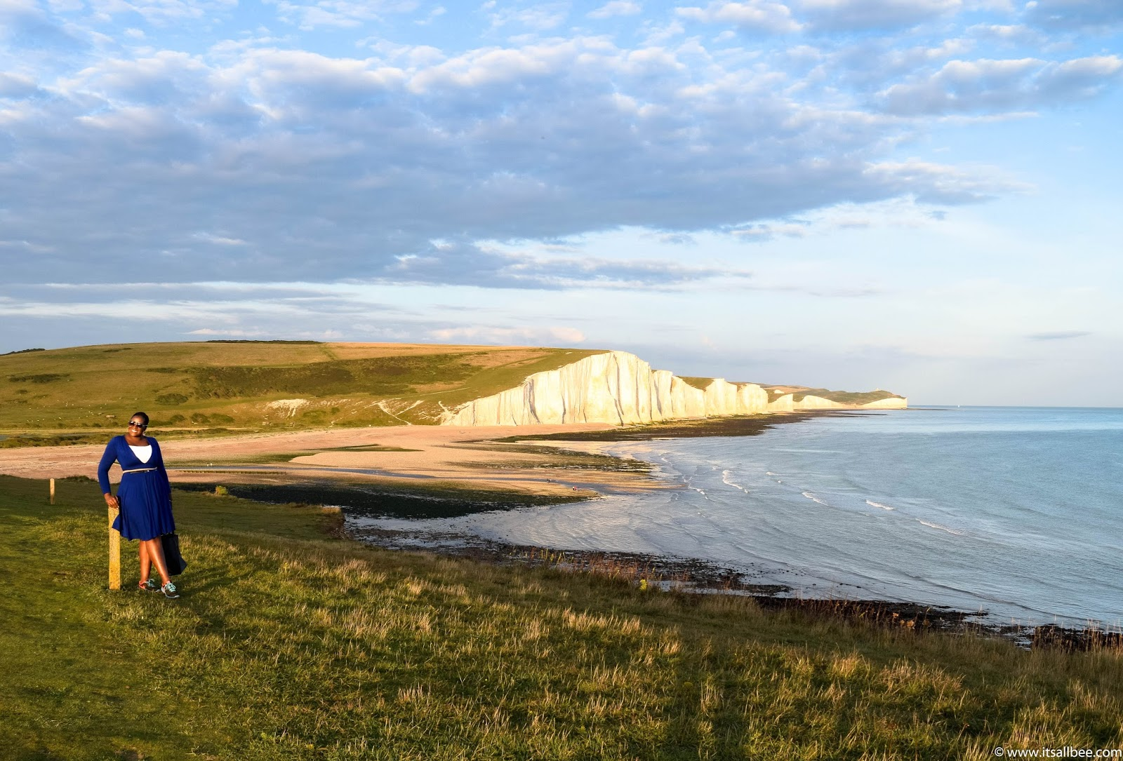 Seven Sisters Sussex | white cliffs