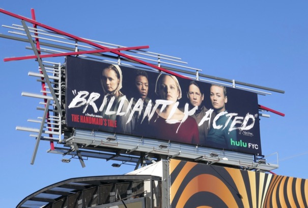 Handmaids Tale season 2 Brilliantly acted FYC billboard
