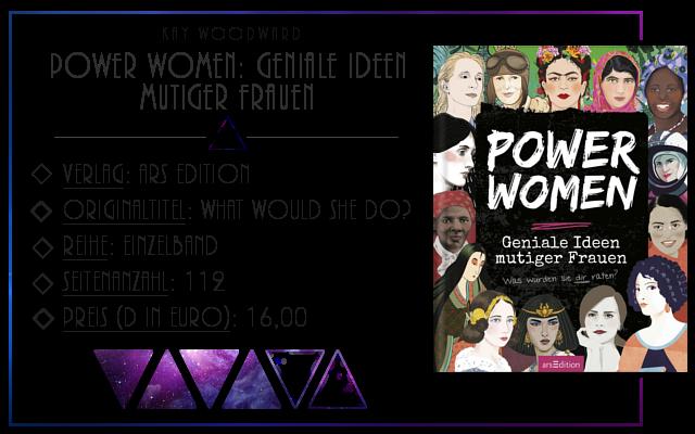 [Rezension] Power Women: geniale Ideen mutiger Frauen - Kay Woodward