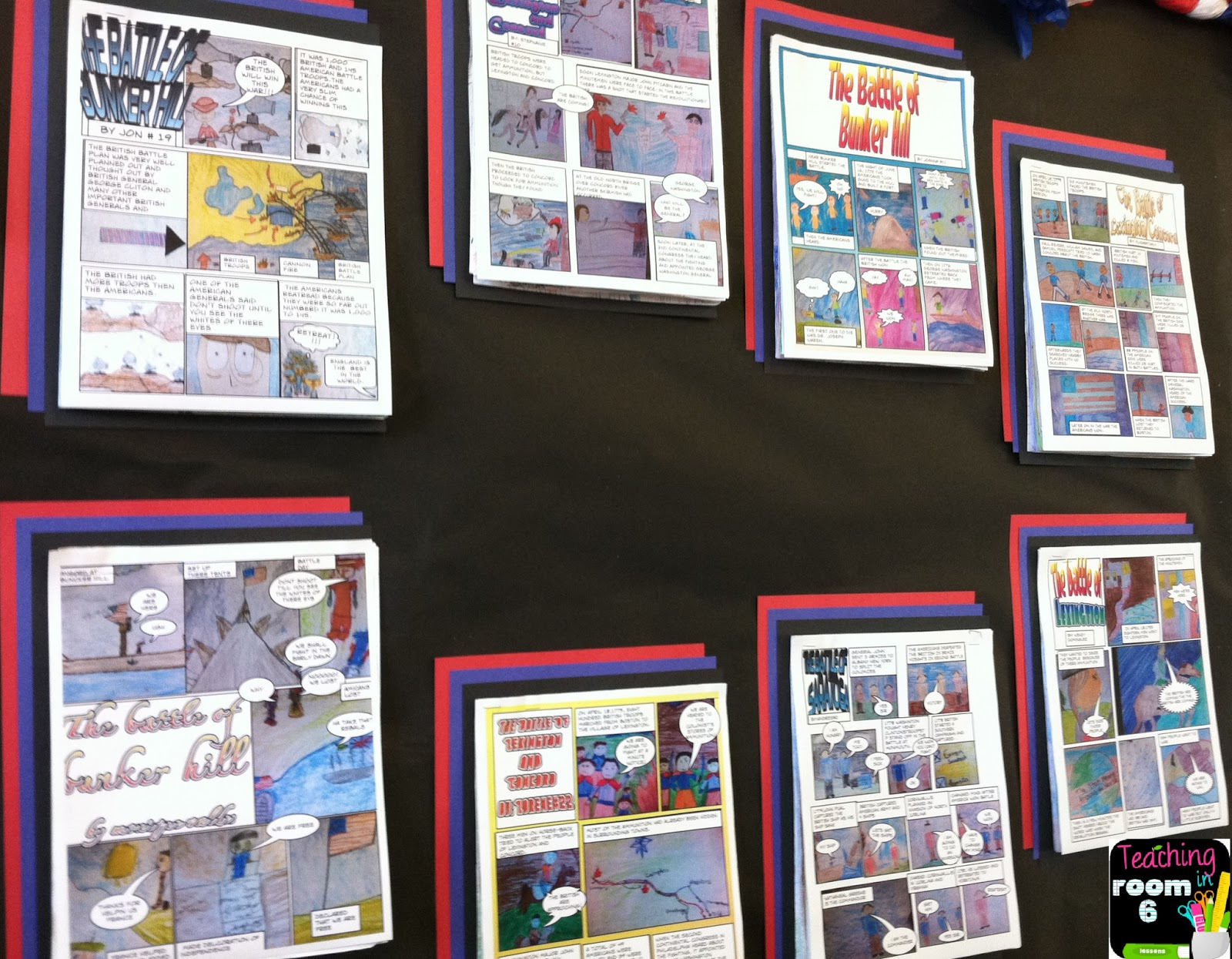 Summarizing Non Fiction Text With A Comic Strip