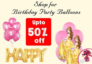 Party Balloons 50% off