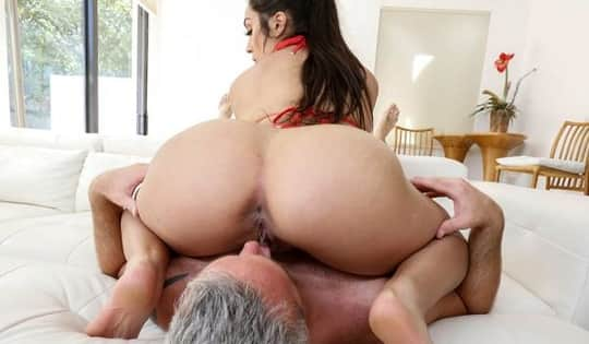 Lilly Hall in Bubble Butt Gets Popped - Bang Bros