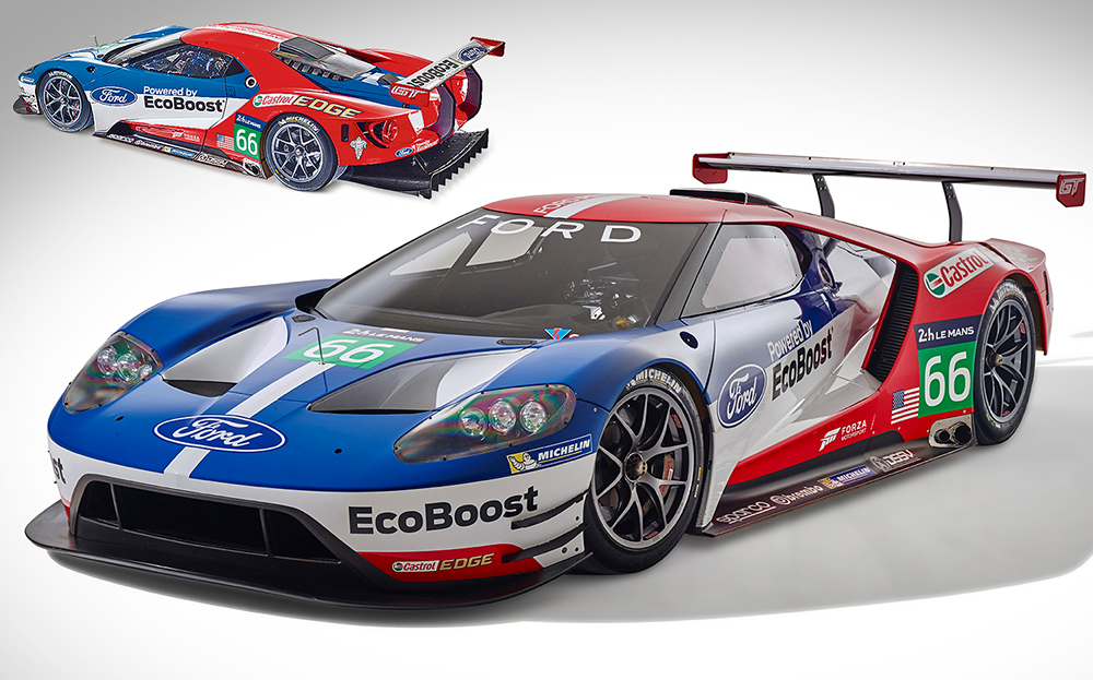 Revell  Ford Gt Le Mans