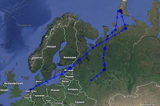 Скрин спутниковой карты