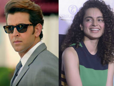 Former love birds Hrithik Roshan and Kangana Ranaut have reportedly sent legal notices to each other.   Hrithik, is said to be afraid that she may name him as her ex boy friend in an interview.  The legal notice is meant to ask her to shut up or face a defamation charge.   Kangana, has retaliated with a notice accusing him of intimidation.