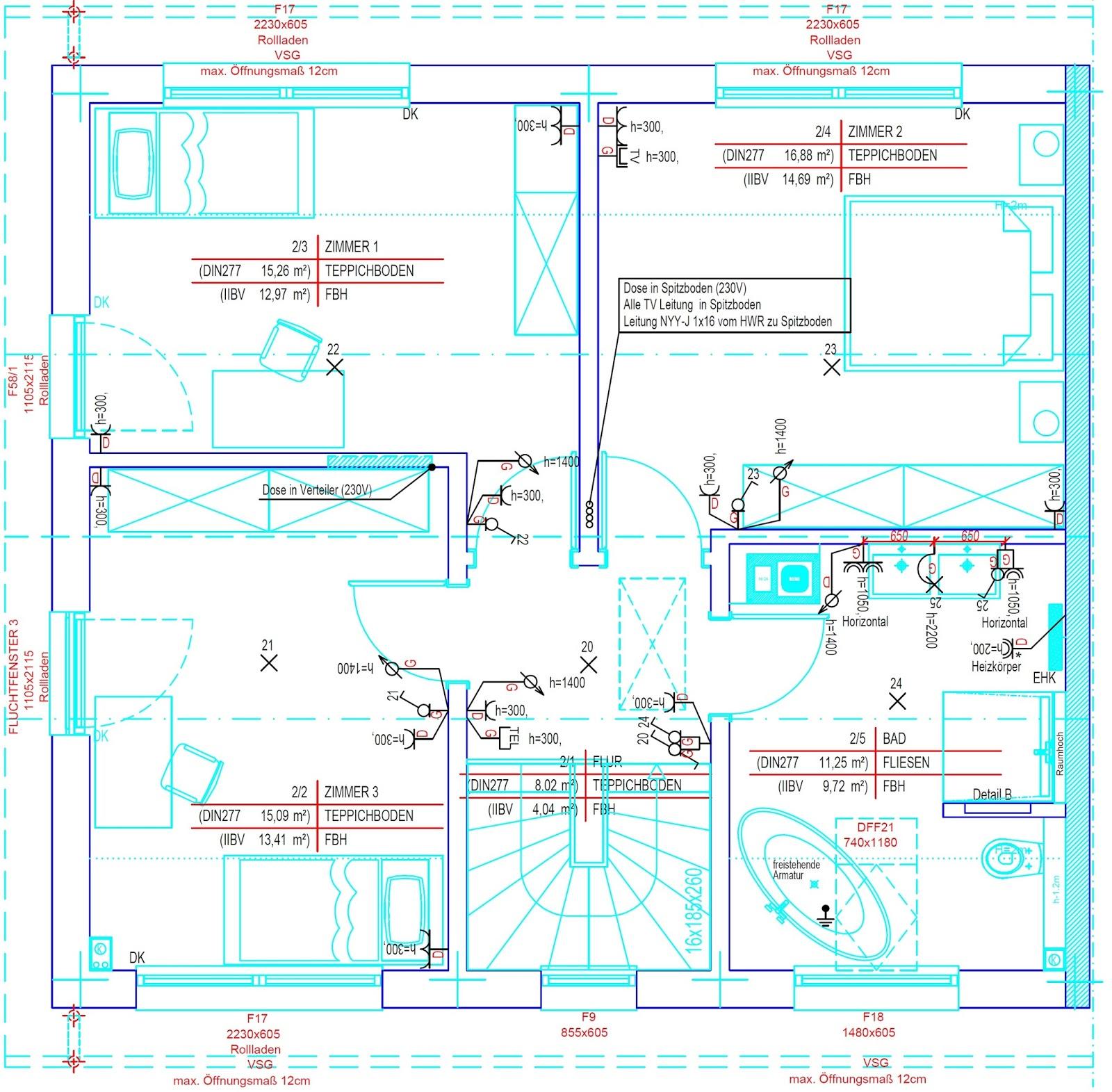 Beste Elektrischer Grundriss Layout Fotos - Der Schaltplan ...