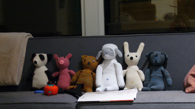 handmade, sock animals, sock and glove