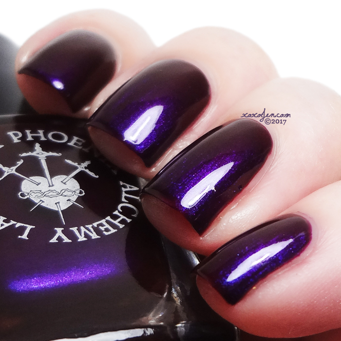 xoxoJen's swatch of Black Phoenix Alchemy Lab Bilquis