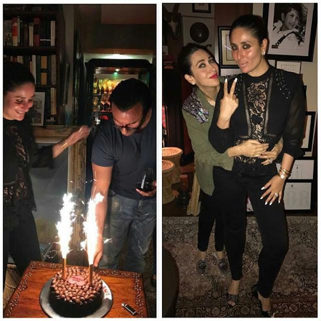 Actor Saif Ali Khan Birthday Party Celebrations Photos