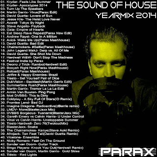 PARAX - THE SOUND OF HOUSE YEARMIX 2014