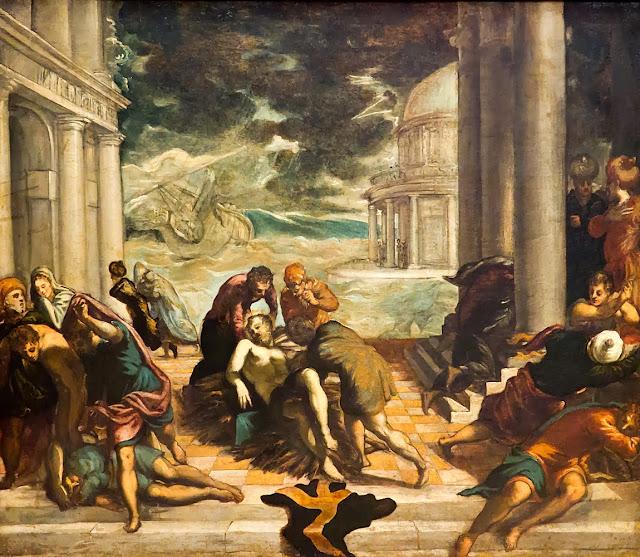 El traslado del cuerpo de San Marcos (Jacobo Comín ...