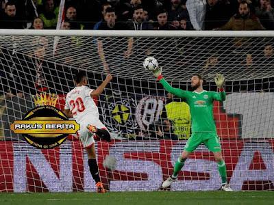 David De Gea Melakukan Penyelamatan Sempurna Lawan Sevilla
