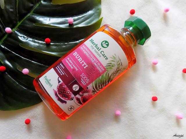 Natłuszczający olejek do kąpieli Buriti, Herbal Care