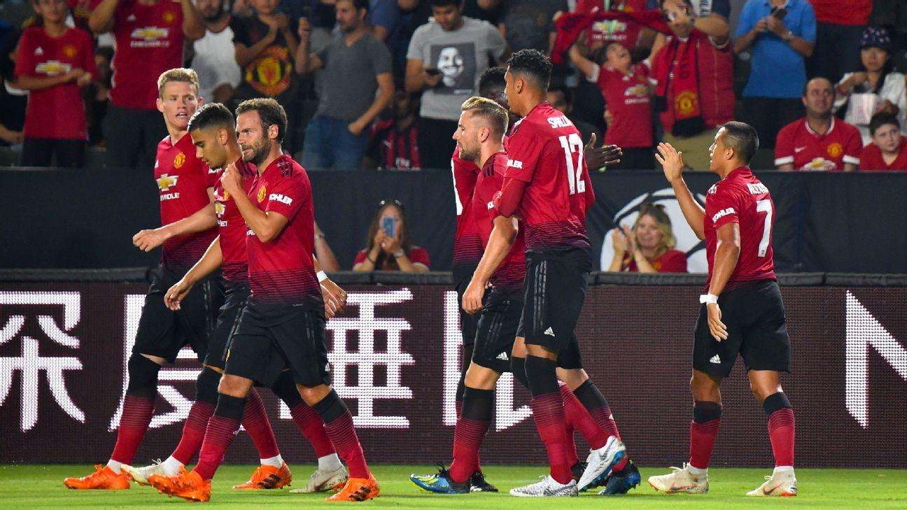 Hasil Pertandingan Ac Milan Vs Manchester United ICC 2018