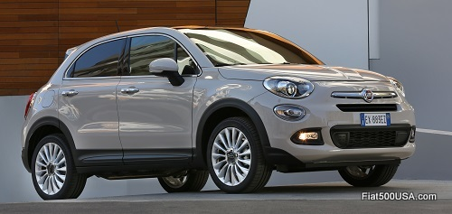 Fiat 500X European Version