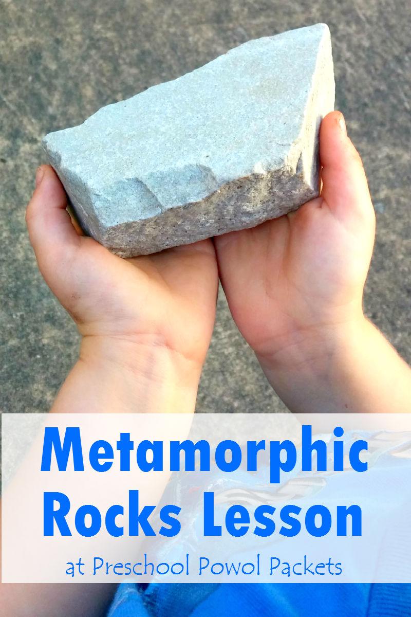 Metamorphic Rocks Lesson – Metamorphic Rocks Worksheet