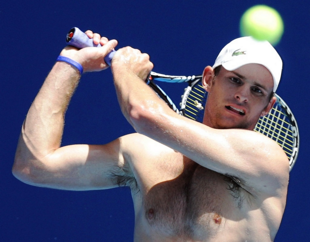 Andy roddick naked for the