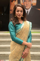 Tejaswi Madivada looks super cute in Saree at V care fund raising event COLORS ~  Exclusive 070.JPG