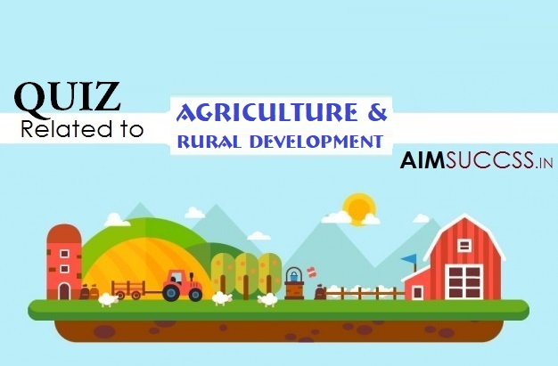 Agriculture & Rural Development MCQs for NABARD
