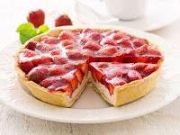 Resep mermbuat Kue Strawberry Cream French Lembut