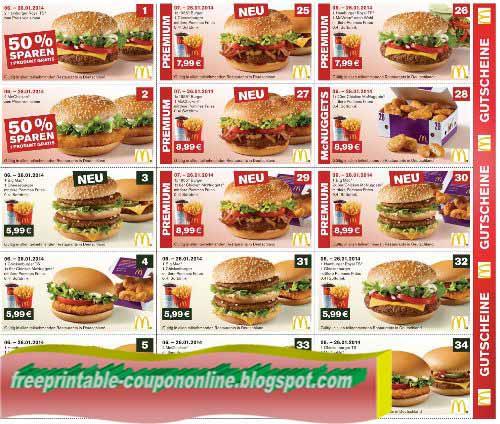 Mcdonalds coupons nz 2019