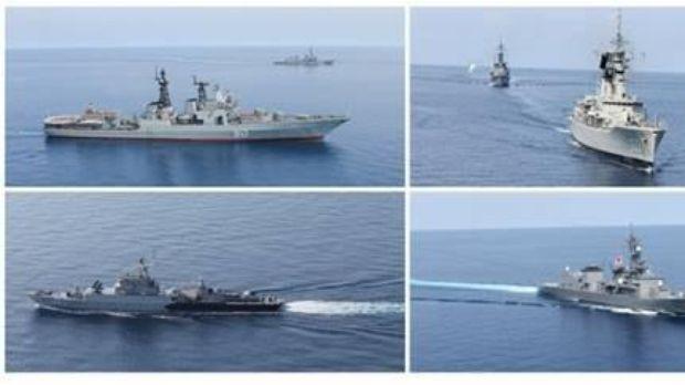 """Latihan Bersama Komodo 2016 Berakhir, Puluhan Kapal Perang Asing Melaksanakan """"Sea Phase """""""