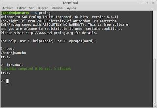 Primero pasos en Prolog
