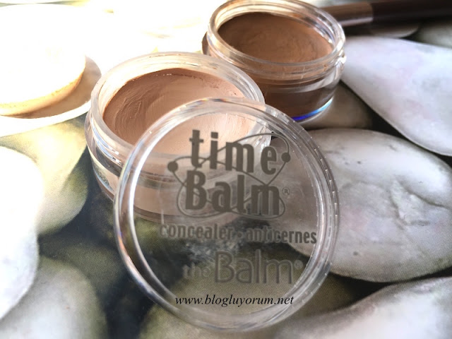 time balm concealer lighter than light and dark