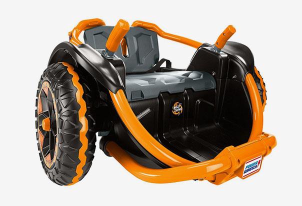 Drives 5 mph (8.0 kmh/H) max. Forward; 2.5 mph (4.0 kmh/H) max. Reverse
