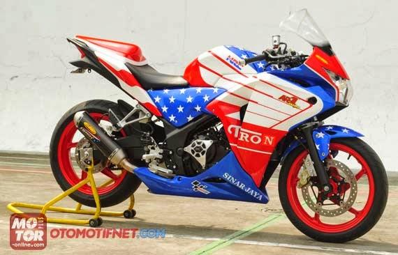 modifikasi cbr 250 cc5  terbaru