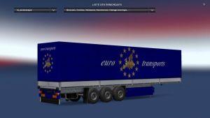Euro Transports Trailer