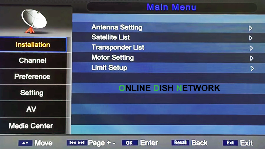 Echolink 8080 HD Spectra Receiver Auto Roll Powervu Software