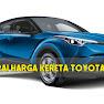 Senarai Harga Terkini Toyota 2019