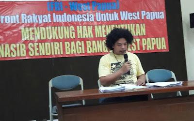 Surya Anta Ginting Deklarator Papua Menentukan Nasib Sendiri