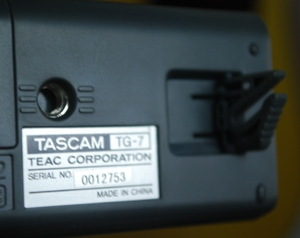Rex and the Bass: Tascam TG-7 Guitar and Bass Tuner