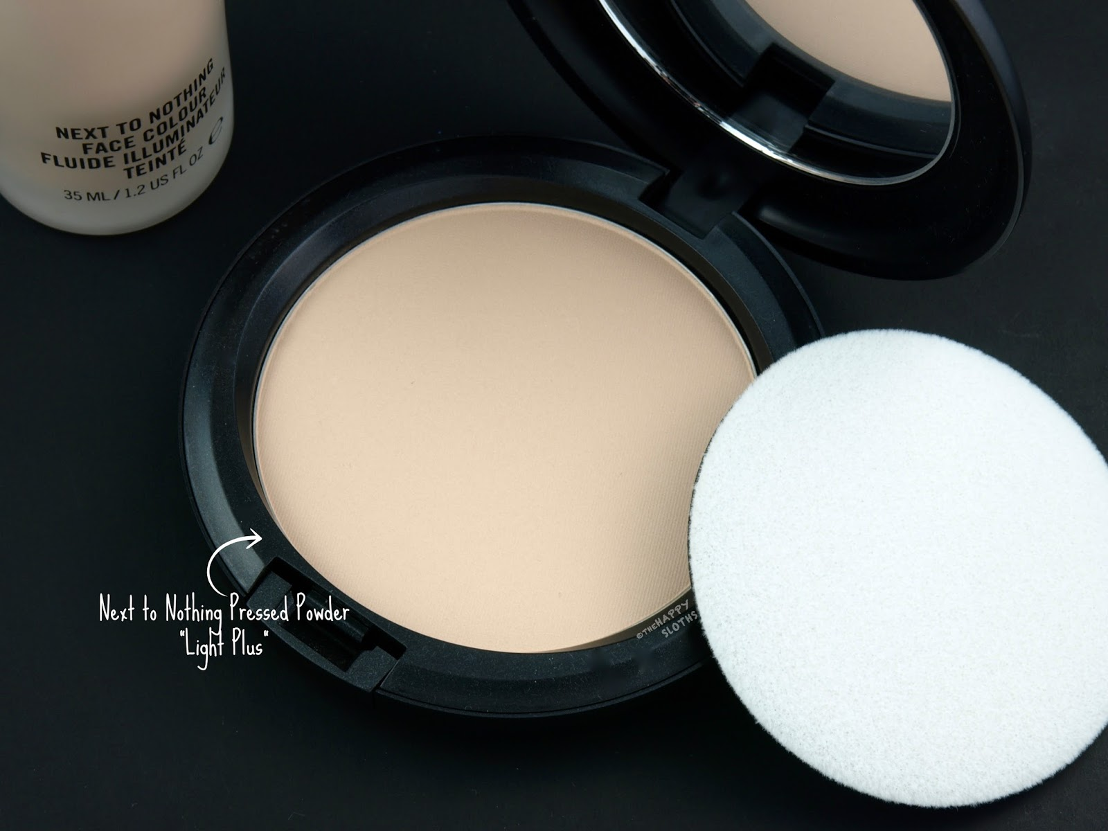 "MAC Next To Nothing Pressed Powder in ""Light Plus"": Review and Swatches"