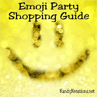 Have some fun at your next Graduation party, birthday party, or Mother's Day party with lots of emjois. This emoji party shopping list has the desserts, decorations, and party favors you'll need to have all your guests smiling and having fun