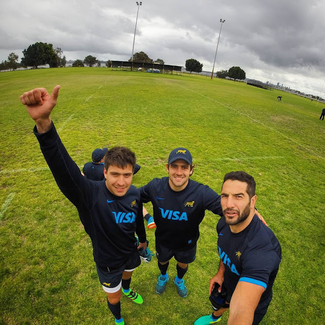 LOS PUMAS, AFTER THE MATCH