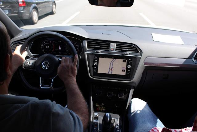 VW Tiguan 2019 R-Line 350 TSI - painel digital