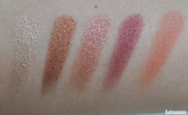 Favorite ColourPop Eyeshadows in Get Lucky, Game Face, Sequin, Shop, Drift: Review, Swatches & FOTD