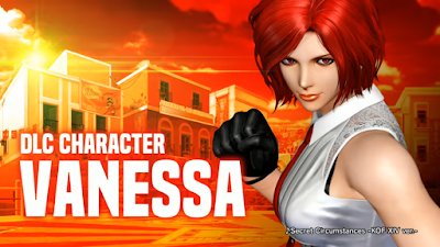 Vanessa si aggiunge al roster di The King Of Fighters XIV